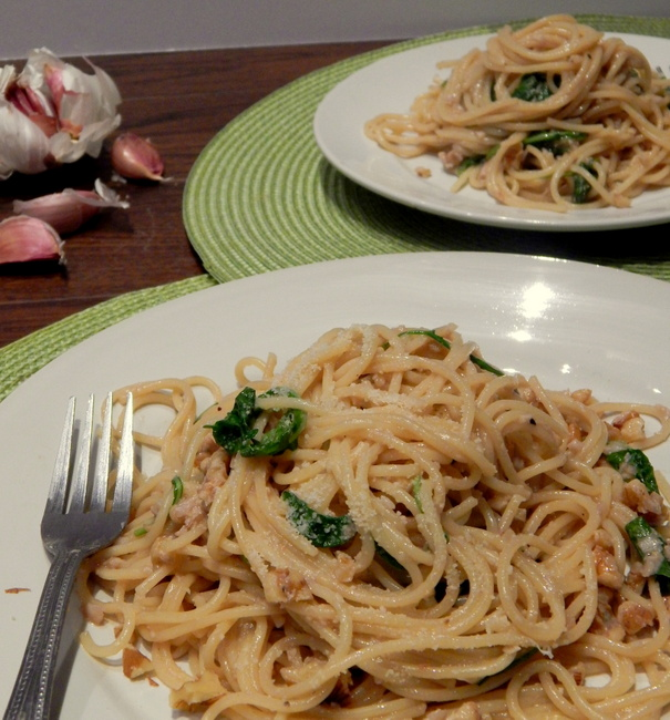 America S Test Kitchen Pasta With Garlic And Arugula