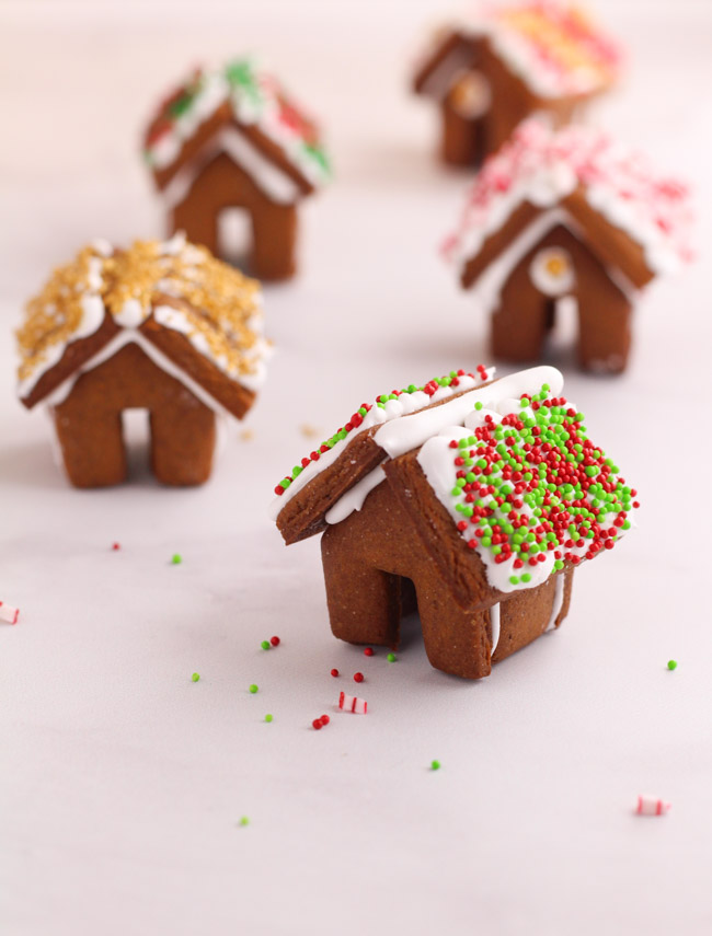 Mini Gingerbread House Cookies Cooking Is Messy